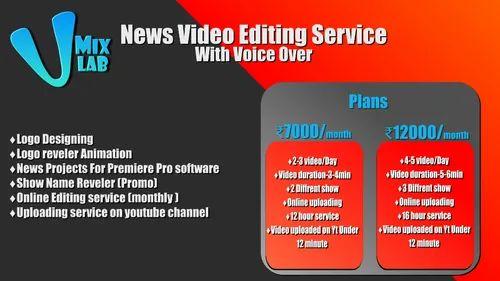 Start online editing service