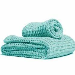 Sandex Corp Cotton Waffle Tea Towel, Size: 50x90cm