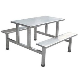 SS Canteen Table with Bench