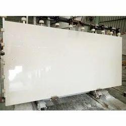 White Quartz Slab, For Countertops