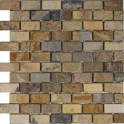 Autumn Rustic Mosaic Stone