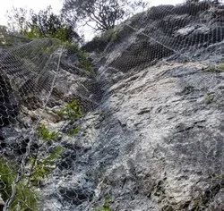 Rockfall Protection Netting