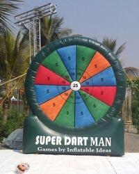 Inflatable Games - Super Dartman