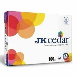 500 Sheets White Jk Cedar Copier Paper, For Photocopy, Size: A4 (Also available in A3)