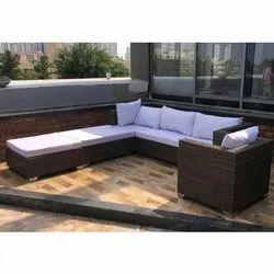 Hutaib Furniture 5 Seater Sofa Set, For Home