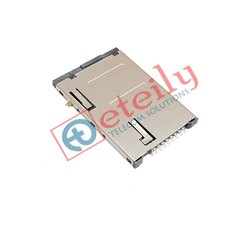 Sim Card Holder 8 Pin Push Type Metal Body