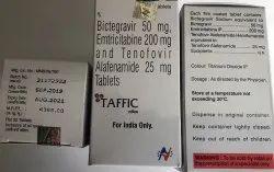 Taffic Tab 30S Pack (Tenofovir Emtricitabin Bictegravir)