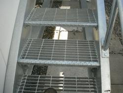 Steel Grating Stair