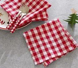 Cotton Checkered Napkin