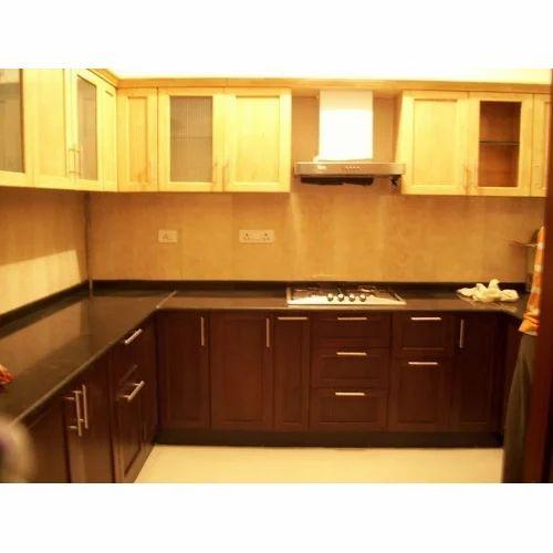 Simple Modular Kitchen At Rs 1000 Square Feet Modular Kitchens