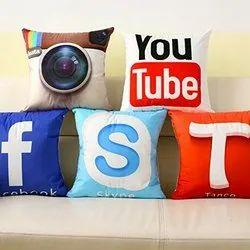 Social Media Pillow