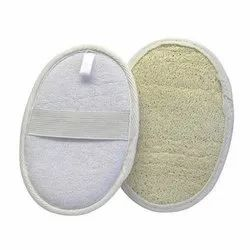 White Loofah Pads, for Personal,Parlour