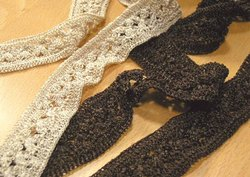 Polyster Crochet Lace