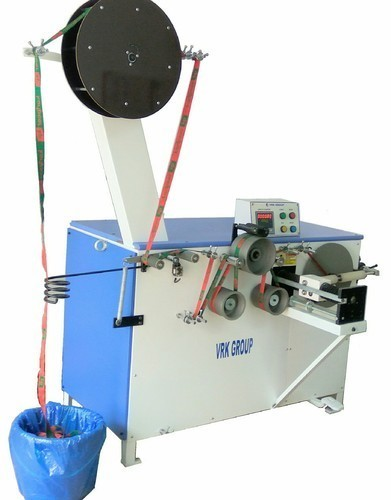 Mattress Tape Roll And Spool Winding Machine