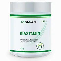 Livestamin Diastamin Powder Herbal Blend Diabetes Supplement, Packaging Type: Bottle, Packaging Size: 300 Grams