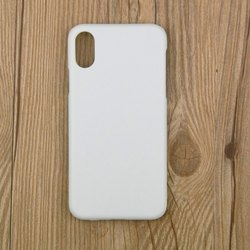 Plastic White Mobile Case Cover, Size: Depend On Phones
