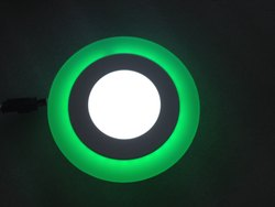 6W - 3W Round 2 In 1 LED Color Panel Light