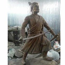 Standing Shivaji Maharaj Statue