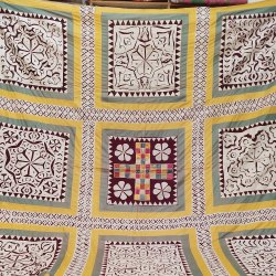 Applique Work Handmade Ralli Quilt