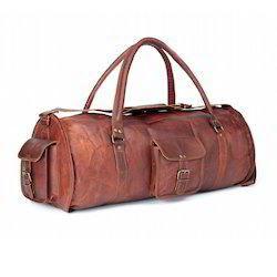 Soft Leather Duffle Bags