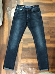 Ankle Length Faded Big Size Denim