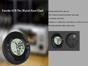 Tyre Shape Digital Clock