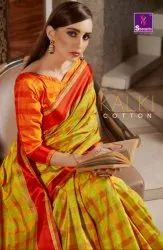 Shangrila Kalki Cotton Traditionnal Fancy Saree Catalog Collection at Textile Mall