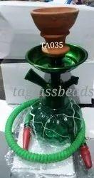 Green Flavour Glass Hookahs