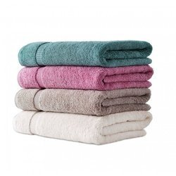 Plain Solid Bath Towels