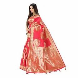 948 Ladies Fancy Art Silk Saree