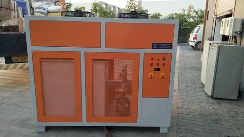 8 kW Mild Steel 15 TR Air Cooled Water Chiller, Warranty: 1 Year