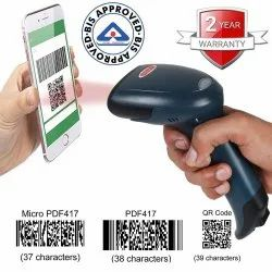 Wired Handheld RETSOL D-2060 Barcode Scanner -USB