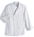 White Assistant Chef Jackets