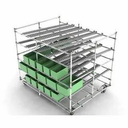 Assembly Line FIFO Storage rack