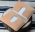 Leather Sleeve Credit Card Holder
