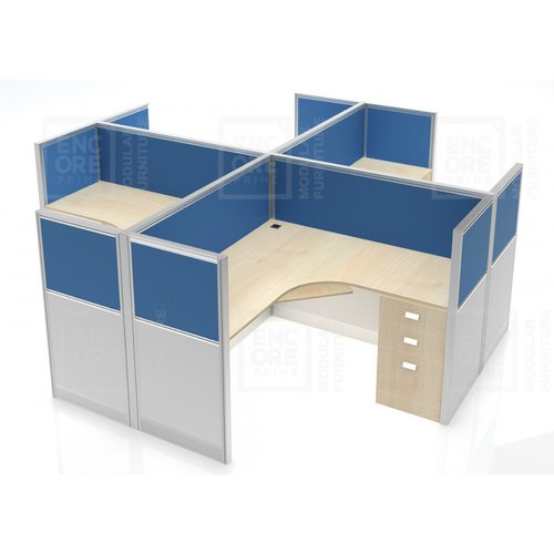 Modular Panel Base Workstation