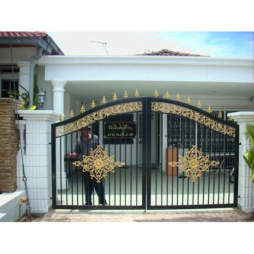 Front Wall Gate At Rs 260 Square Feet Decorative Doors Id