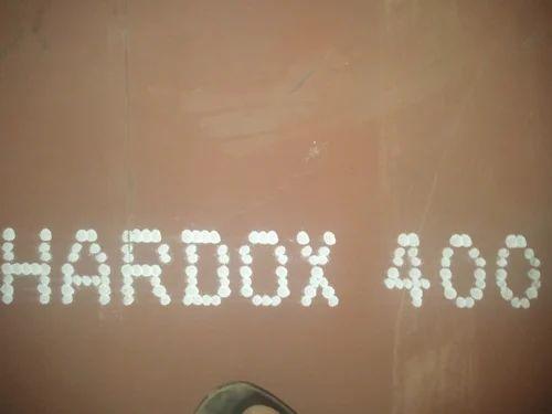 Hardox 400, 450, 500 Plates