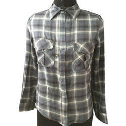 f43f86d280638 Girls Check Shirt at Rs 700  piece