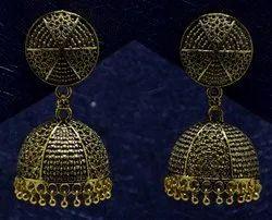 Brass Plated Jhumki