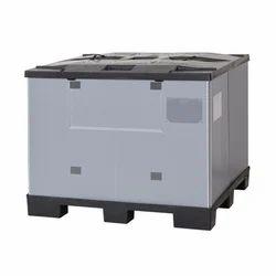 Foldable Plastic Pallet Box