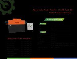 Hodis PrintO - H 750 Dual AD Paper & Board Shredder