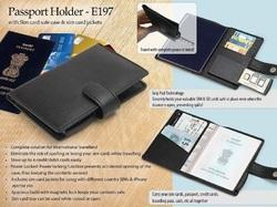 Passport & Pen Holder