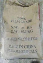 White LDPE Film Grade, Packaging Size: 25 Kg