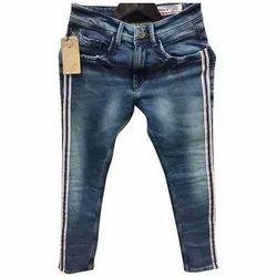 Regular Fit Party Wear Men Denim Jeans, Waist Size: 28-42