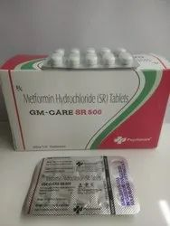 Metformin HCL 500mg SR Tablets
