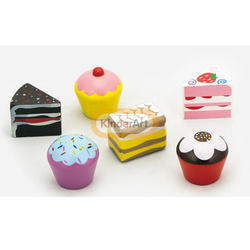 Cake Set 6 Pcs Kids Toy