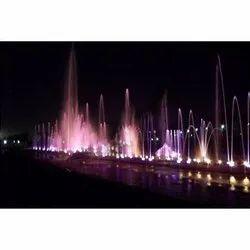FRP RGB Musical Fountains MO-5