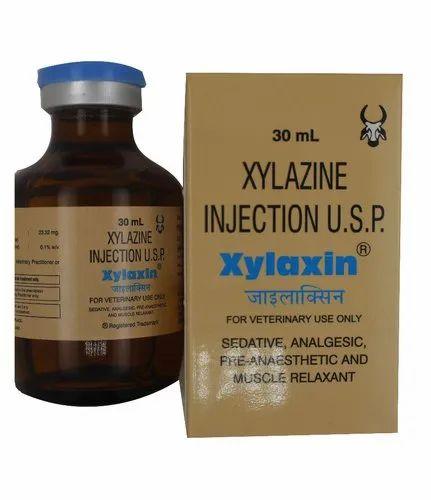 Xylaxin(Xylazine Hydrochloride) Injection 30ml