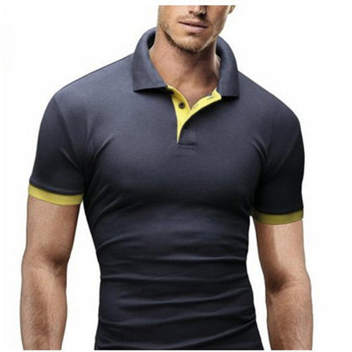 d697098ca612 Stylish Collar T-Shirt, पुरुषों की कॉलर टी शर्ट ...